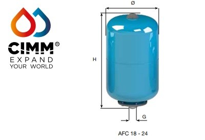 ACS/AFE -Vertical   24 Litre 16 BAR