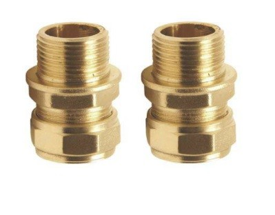 "DAB  1"" BRASS UNION FOR PIPE CONNECTION"